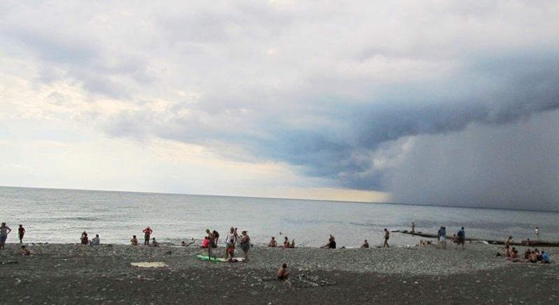 Адлер фото пляж