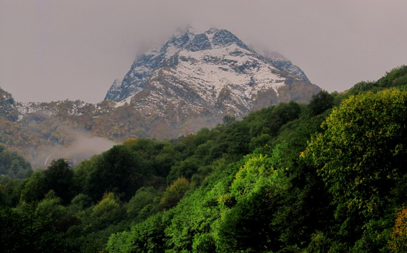 Роза Хутор горы фото