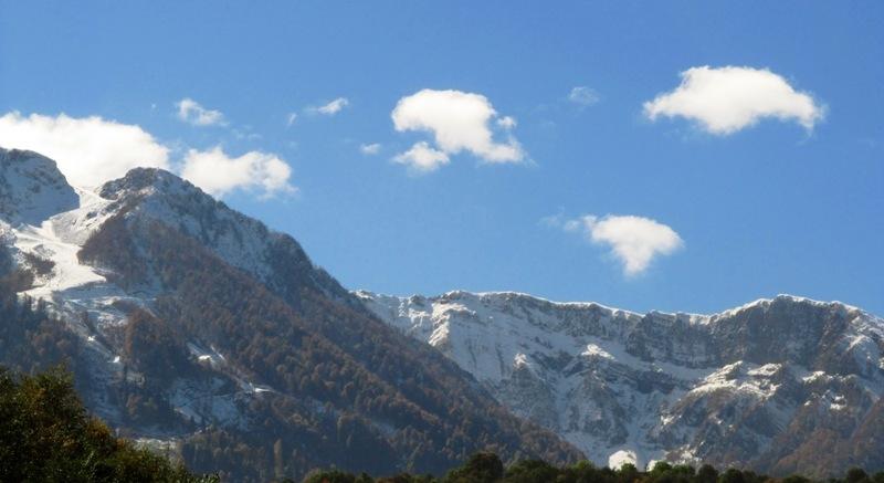 Роза Хутор горный пейзаж фото