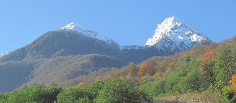 Роза Хутор заснеженные вершины фото