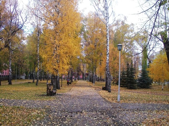 осень в Стерлитамаке